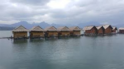 CHEOW LAN DAM FLOATING HUT,
