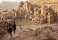 GIORDANIA, Hiking nel sito archeologico di petra