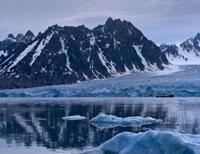 SVALBARD, Di fronte al ghiacciaio