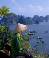VIETNAM, CAMBOGIA, LAOS, INDONESIA, VIETNAM, IMBARCAZIONI DI PESCATORI