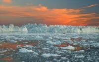 GROENLANDIA, Uno splendido tramonto artico