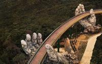 VIETNAM, CAMBOGIA, LAOS, INDONESIA, GOLDEN BRIDGE BA NA HILSS