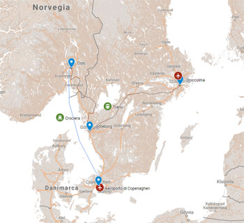 NORVEGIA ITINERARI ECOFRIENDLY - ESTATE 2019
